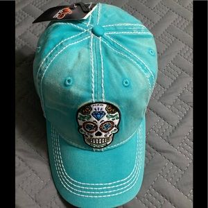 Accessories - Skull baseball cap!! 💀